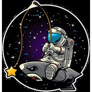 Наклейка Космонавт-177, фото 1