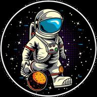 Наклейка Космонавт-178, фото 1