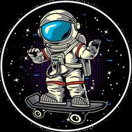 Наклейка Космонавт-179, фото 1