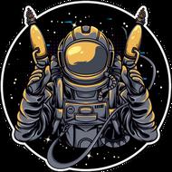 Наклейка Космонавт-180, фото 1