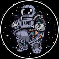 Наклейка Космонавт-181, фото 1