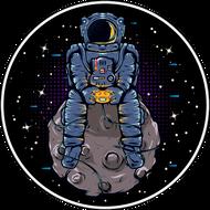 Наклейка Космонавт-182, фото 1
