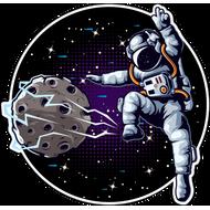 Наклейка Космонавт-183, фото 1