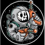 Наклейка Космонавт-184, фото 1