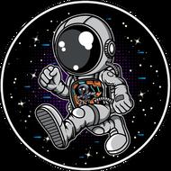 Наклейка Космонавт-185, фото 1