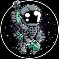 Наклейка Космонавт-186, фото 1