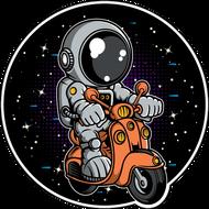Наклейка Космонавт-187, фото 1