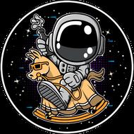 Наклейка Космонавт-192, фото 1