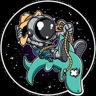 Наклейка Космонавт-196, фото 1