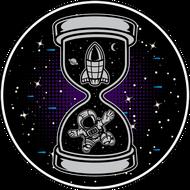 Наклейка Космонавт-197, фото 1