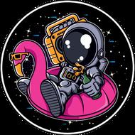Наклейка Космонавт-199, фото 1