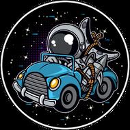 Наклейка Космонавт-203, фото 1