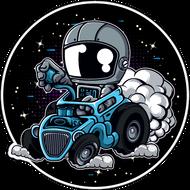Наклейка Космонавт-204, фото 1