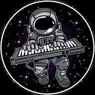 Наклейка Космонавт-205, фото 1