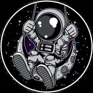 Наклейка Космонавт-207, фото 1