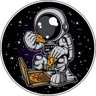 Наклейка Космонавт-209, фото 1