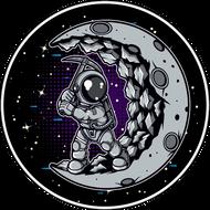 Наклейка Космонавт-210, фото 1