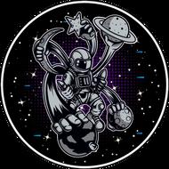 Наклейка Космонавт-211, фото 1