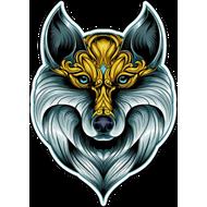 Наклейка Волк-126, фото 1