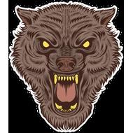 Наклейка Волк-131, фото 1