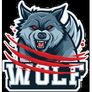Наклейка Волк-136, фото 1
