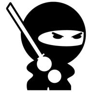 Наклейка Ninja, фото 1