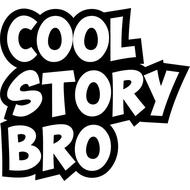 Наклейка Cool story bro, фото 1