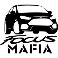 Наклейка Focus mafia, фото 1