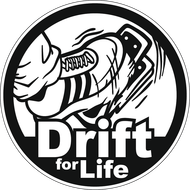 Наклейка Drift for life, фото 1