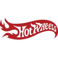 Наклейка Hot Wheels сквозная резка без фона, фото 1