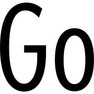 Наклейка Go, фото 1
