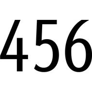 Наклейка Бортовой номер Яндекс Go Такси, фото 1