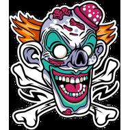 Наклейка Клоун-028, фото 1