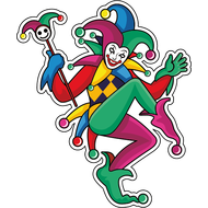Наклейка Клоун-041, фото 1