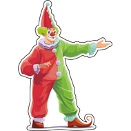 Наклейка Клоун-043, фото 1