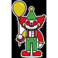 Наклейка Клоун-044, фото 1