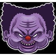 Наклейка Клоун-058, фото 1