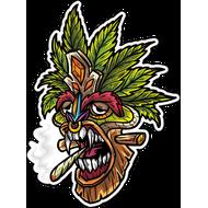 Наклейка Растаманская маска-014, фото 1