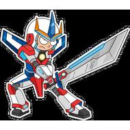 Наклейка Морти в супергеройском костюме, фото 1