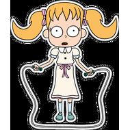 Наклейка Девочка из кошмара, фото 1