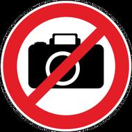 Наклейка Фотографировать запрещено, фото 1