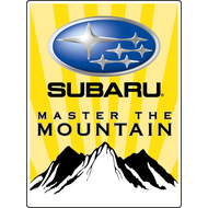 Наклейка Subaru Master the Mountain, фото 1
