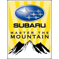 Наклейка Subaru Master the Mountain, фото 1
