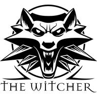 Наклейка Ведьмак / The Witcher, фото 1