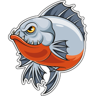 Наклейка Рыба-056, фото 1