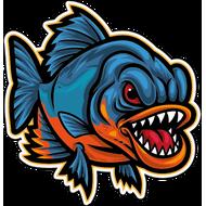 Наклейка Рыба-057, фото 1