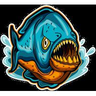 Наклейка Рыба-058, фото 1