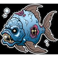 Наклейка Рыба-059, фото 1