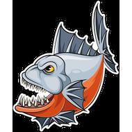 Наклейка Рыба-060, фото 1