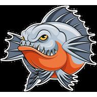 Наклейка Рыба-064, фото 1